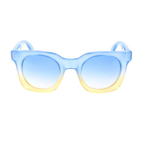 Axel Sunglass // Blue + Yellow (49mm)