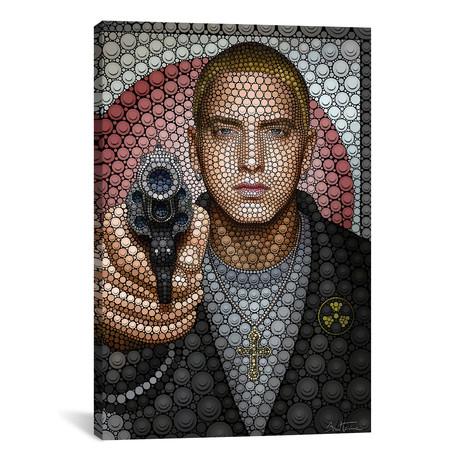 """Eminem // Ben Heine (18""""W x 26""""H x 0.75""""D)"""