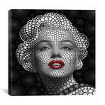 """Marilyn Monroe // Ben Heine (18""""W x 18""""H x 0.75""""D)"""
