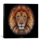 """Lion // Ben Heine (18""""W x 18""""H x 0.75""""D)"""
