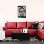 """Steve Jobs // Ben Heine (18""""W x 26""""H x 0.75""""D)"""