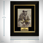 Lawrence Of Arabia // Peter O'Toole Signed Photo // Custom Frame