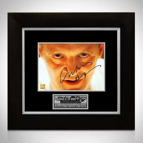Silence Of The Lambs // Anthony Hopkins Signed Photo // Custom Frame