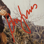 Indiana Jones // Harrison Ford Signed Photo // Custom Frame