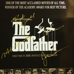 Godfather // Cast Signed Poster // Custom Frame