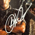 Jurassic World // Chris Pratt Signed Photo // Custom Frame