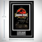 Jurassic Park // Cast Signed Poster // Custom Frame