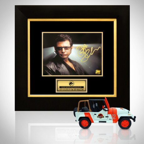 Jurassic Park // Jeff Goldblum Signed Memorabilia (Signed Jeep Wrangler Custom Display Only)
