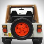 Jurassic Park // Jeff Goldblum Signed Memorabilia (Signed Jeep Wrangler Custom Display Only)