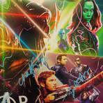 Infinity War // Cast Signed Poster // Custom Frame
