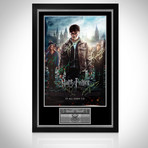 Harry Potter & The Deathly Hallows // Cast Signed Poster // Custom Frame