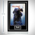 Dark Knight // Cast Signed Poster // Custom Frame