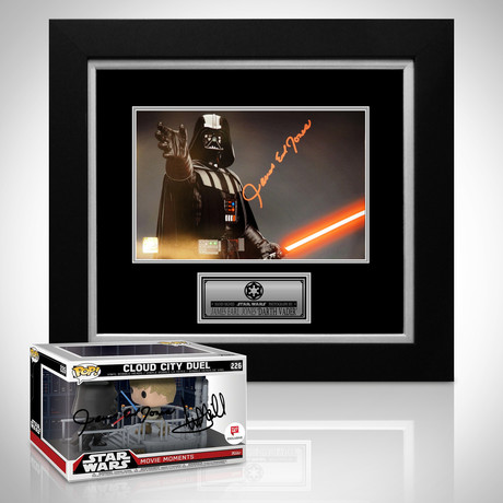 Star Wars Darth Vader // James Earl Jones Signed Memorabilia (Signed Photo Custom Frame Only)
