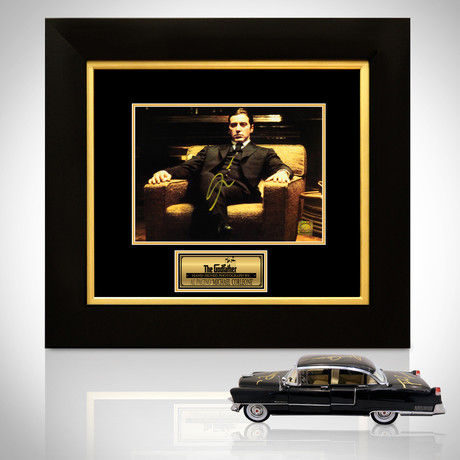 Godfather // Al Pacino Signed Memorabilia (Signed Photo Custom Frame)
