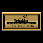 Godfather // Al Pacino Signed Memorabilia (Signed Photo Custom Frame)