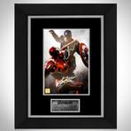 Captain America Vs. Ironman // Robert Downey Jr. + Chris Evans + Stan Lee Signed Photo // Custom Frame