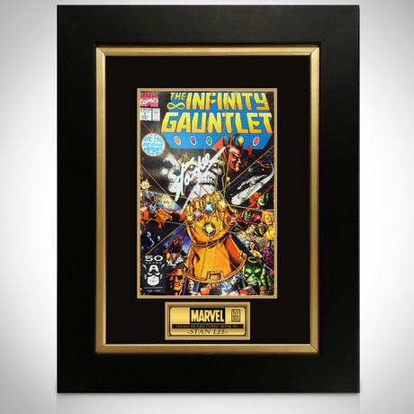 Infinity Gauntlet #1 // Stan Lee Signed Comic (Signed Comic Book Only)