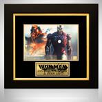 Iron Man // Robert Downey Jr. + Stan Lee Signed Photo // Custom Frame
