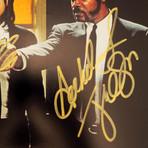 Pulp Fiction // John Travolta + Samuel L. Jackson Signed Photo // Custom Frame