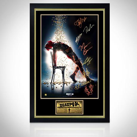 Deadpool 2 // Cast Signed Poster // Custom Frame