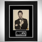 James Bond // Roger Moore Signed Photo // Custom Frame
