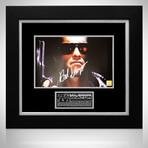 Terminator // Arnold Schwarzenegger Signed Photo // Custom Frame