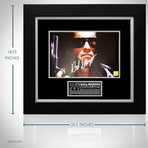 Terminator // Arnold Schwarzenegger Signed Photo // Custom Frame