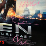X-Men Days Of Future Past // Cast Signed Poster // Custom Frame