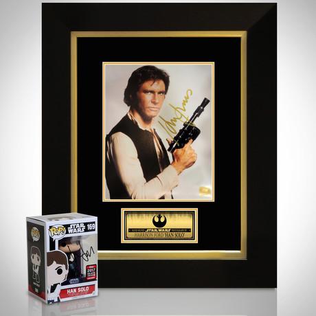 Han Solo // Harrison Ford Signed Memorabilia  (Signed Funko Pop Only)