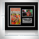 Back To The Future // Michael J Fox + Christopher Lloyd Signed Sports Almanac // Custom Frame