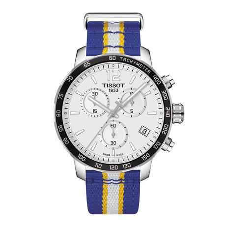 Tissot Quickster Chronograph // Golden State Warriors