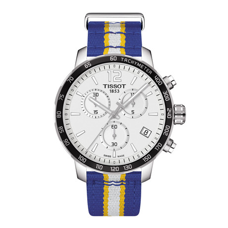 Tissot Quickster Chronograph Quartz // Golden State Warriors