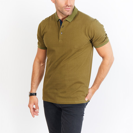 Delbert Polo // Army Green (S)