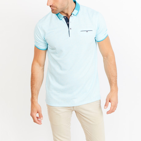 Dana Polo // Light Blue (S)