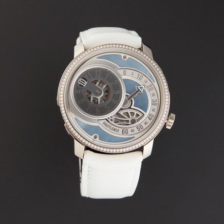 Hautlence Ladies Atelier Jump Hour Retrograde Manual Wind // HLC 03 DIAMOND // Store Display
