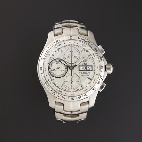 Tag Heuer Link Chronograph Automatic // CJF211B.BA0594 // Store Display