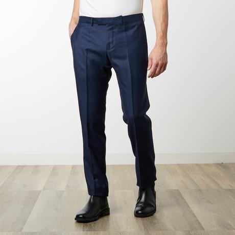 Textured Monaco Pant // Navy