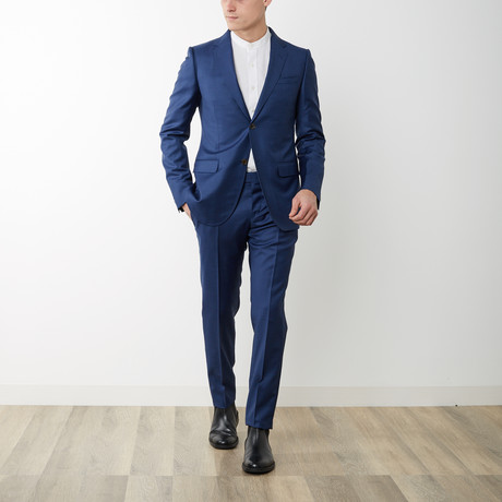 Solid Monaco Suit // Blue