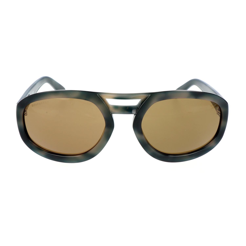 Edmond Sunglasses Olive Grey