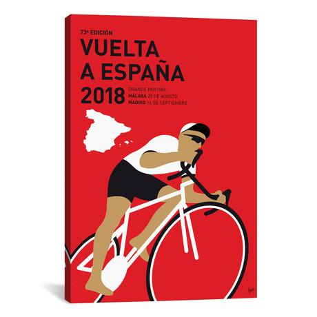 """Vuelta a España Minimal Poster 2018 // Chungkong (26""""W x 40""""H x 1.5""""D)"""