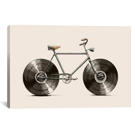 "Velophone // Florent Bodart (40""W x 26""H x 1.5""D)"