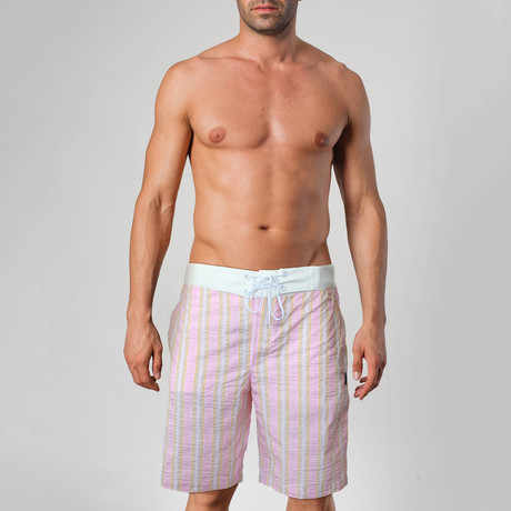 1107 Swimming Shorts // Pink