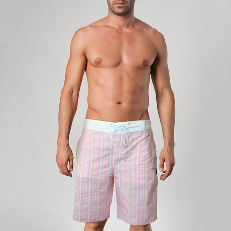 1107 Swimming Shorts // Pink