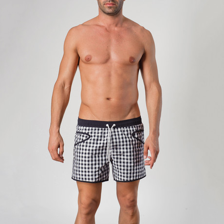 Silvester P1 Swimming Shorts // Black