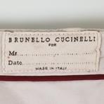 Cotton Pleated Casual Pants // Khaki (44)