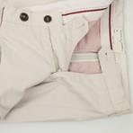 Cotton Blend Casual Pants // Beige (Euro: 44)