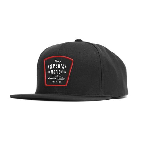 Warrant Snapback // Black