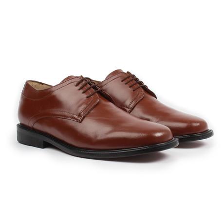 Plain Toe Derby // Cognac (US: 6)
