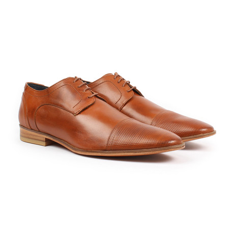 Cap Toe Dress Shoe // Tan (US: 6)