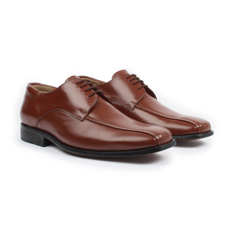 Lace-Up Dress Shoes // Cognac (US: 6)